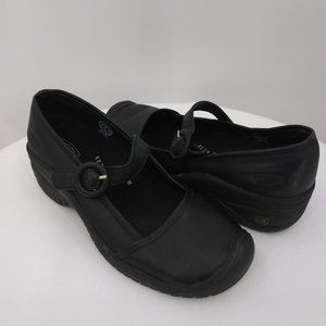 Keen Women 7.5 Mary Jane Loafers Black